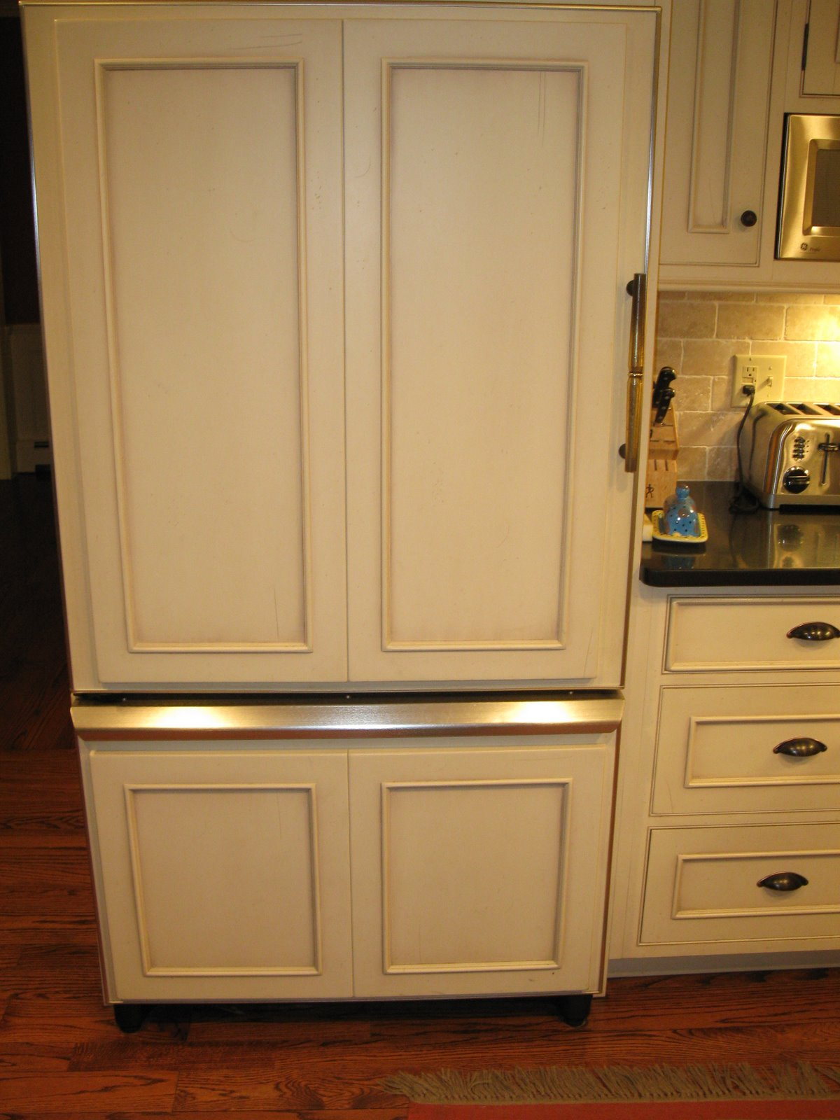 Refrigerator Door Panels Wood Shapeyourminds Com