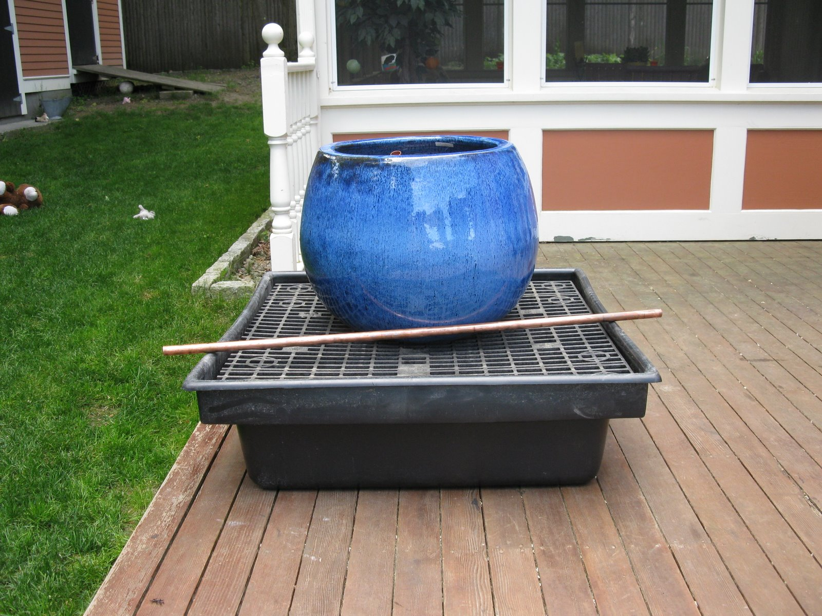 Hidden Water Basin I How To Build A Disearing Fountain
